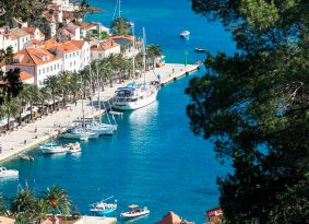 Coast-of-Hvar-island