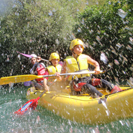 Rafting adventure on river Cetina